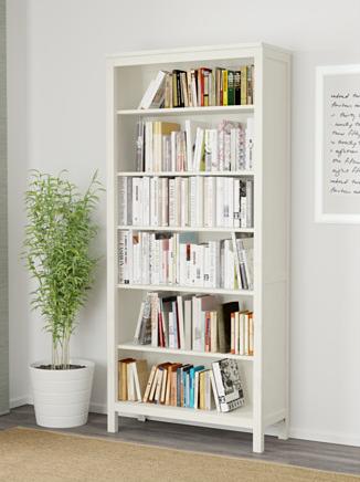 Ikea Hemnes bookcase, white