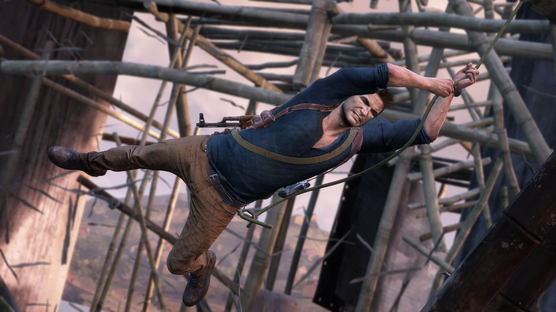Watch the trailer for Uncharted 4's frenetic multiplayer