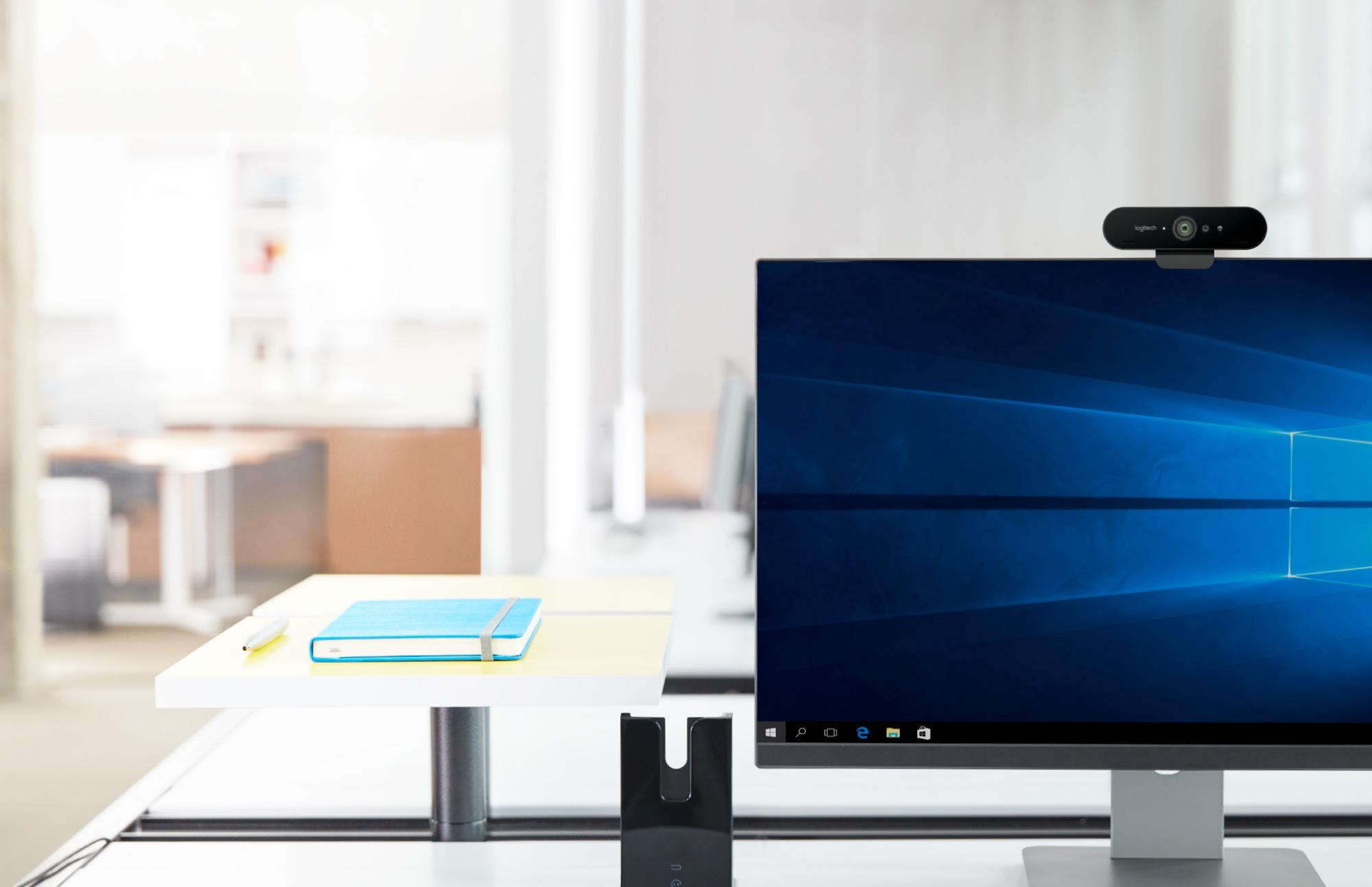 Logitech tiene la webcam definitiva: 4K, HDR y sensor de infrarrojos