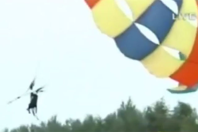 parasailing baby