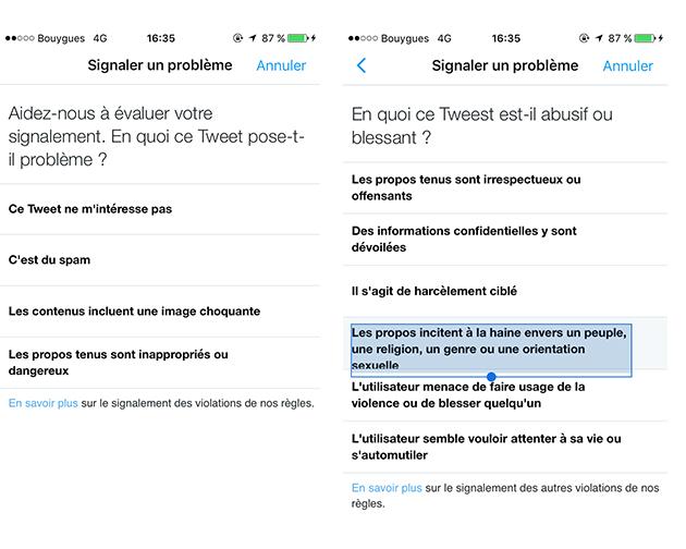 Twitter lance un outil contre le harcèlement en ligne