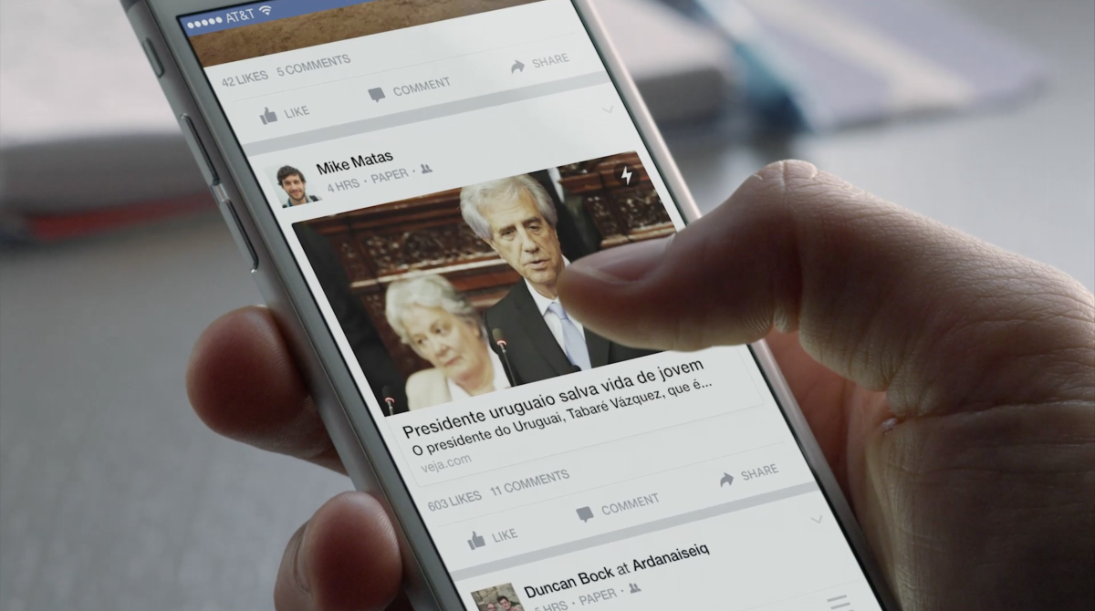 Facebook's Instant Articles come to Latin America