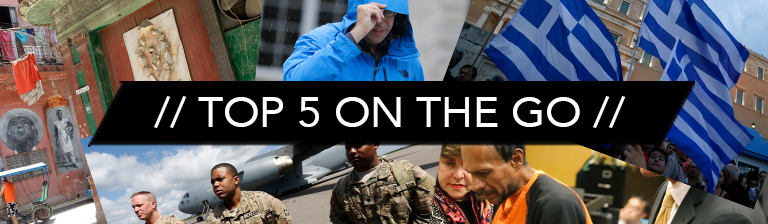 Top 5 On the Go: Tuesday July 7