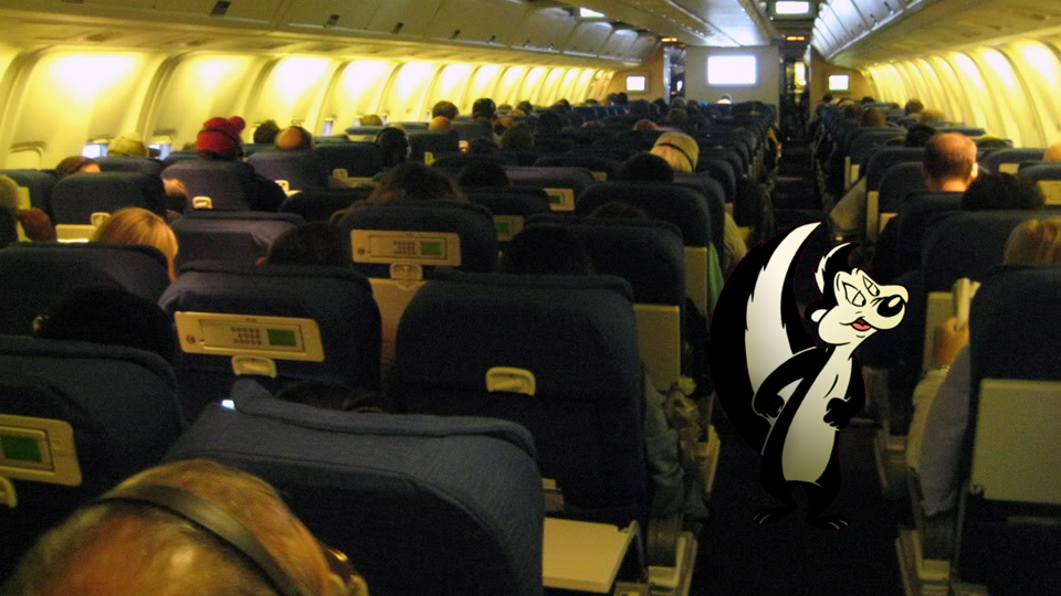 very best places to fart, best fart locations, on an airplane fart