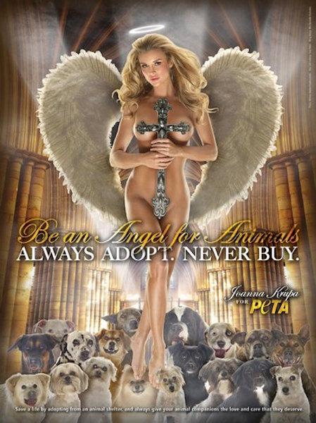 PETA sexy ads, hot PETA models, sexy girls