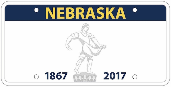 Nebraska Is Changing Their License Plate Because It Looks Like A Guy Holding His Balls
