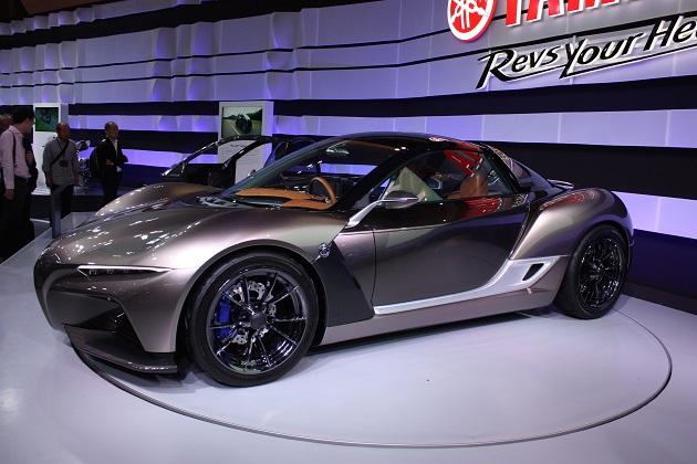 【東京モーターショー2015】魅惑的な軽量スポーツカー、ヤマハ「スポーツライド コンセプト」