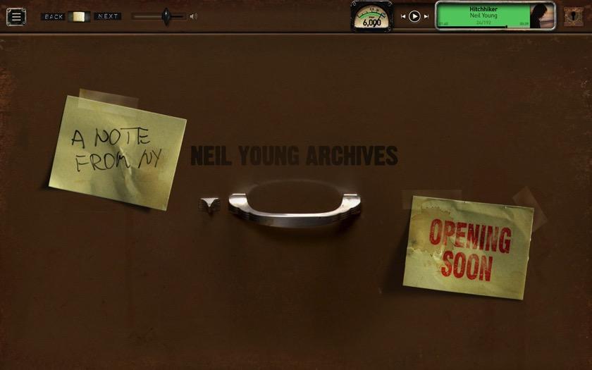 Neil Young startet Online-Archiv seiner eigenen Musik
