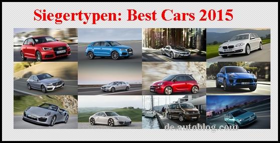 Leserwahl die besten autos 2015