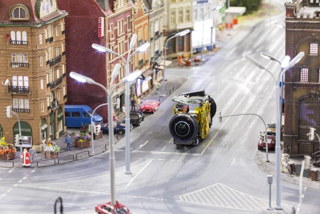 Google Street View te lleva a la diminuta ciudad de Wunderland