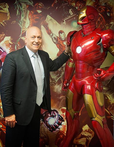 アイアンマンと「大リーグのアイアンマン」カル・リプケンJrの鉄人ヒーローコラボが熱すぎ