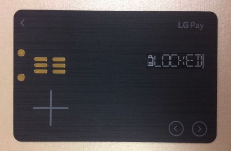 LG will reportedly unveil a universal payment card next month