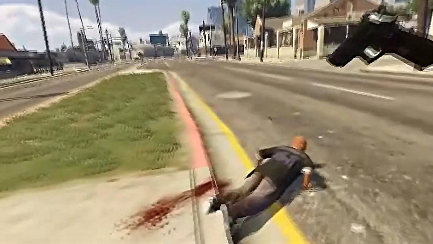 'Grand Theft Auto V' en VR podría no ser tan buena idea