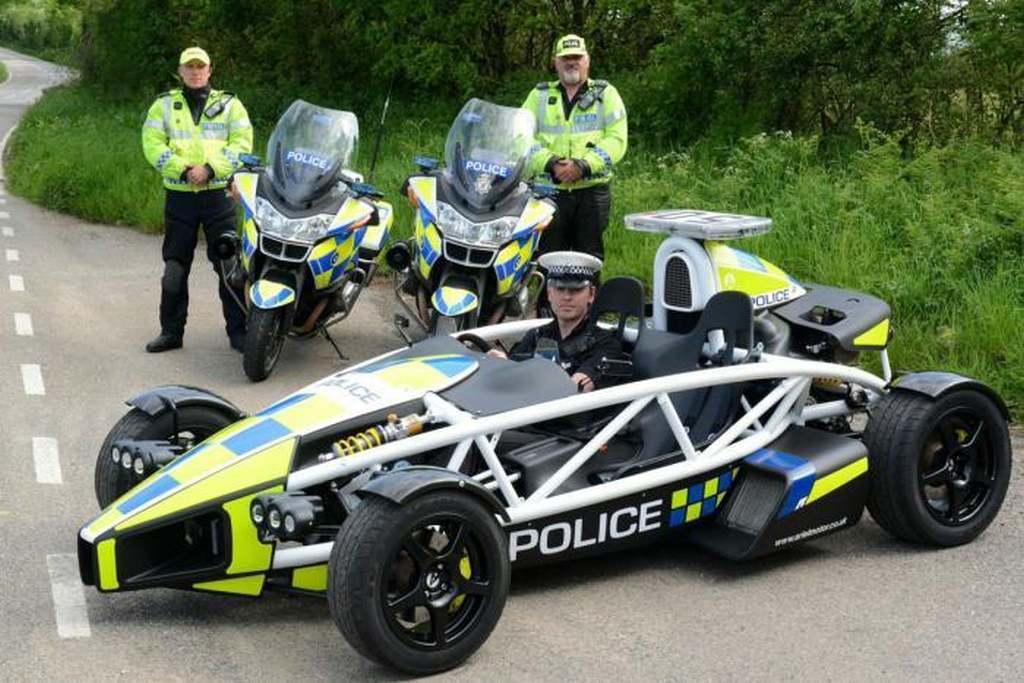 Ariel Atom, Ariel Atom Police car, das schnellste Polizeiauto der welt, schnellste Polizeiwagen,witzig, lustig, komisch, cool, verrückt, Polizei, Police