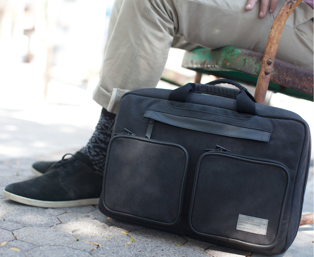 HEX convertible laptop briefcase