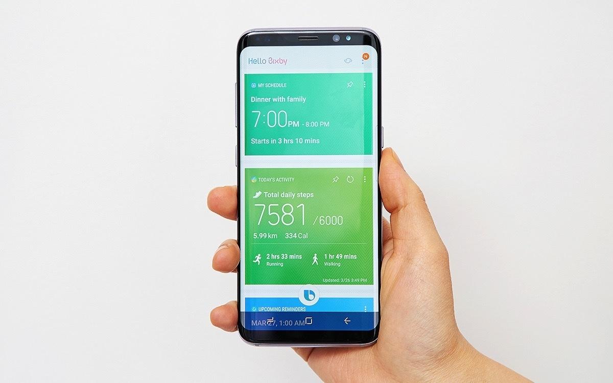 Bixby llegará muda con el lanzamiento del Galaxy S8