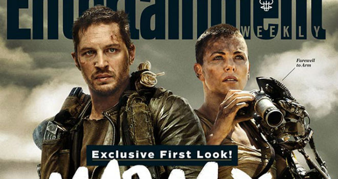 mad+max+fury+road+ew+cover First Look: Tom Hardy and Charlize Theron in Mad Max: Fury Road (PHOTO)