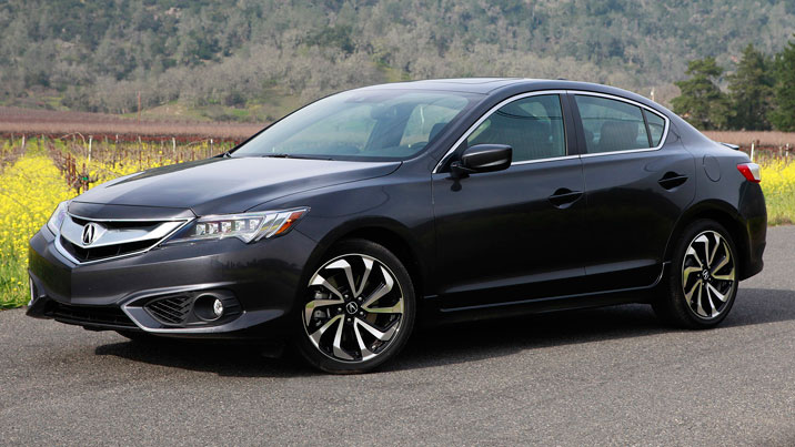 2016 acura ilx front coutnryside