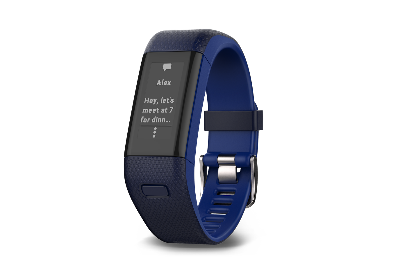 Garmin's new fitness tracker is a more accurate Vivosmart HR