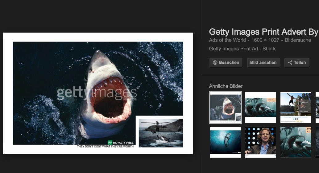 Google-Bildersuche wird mehr Rücksicht auf Copyrights nehmen