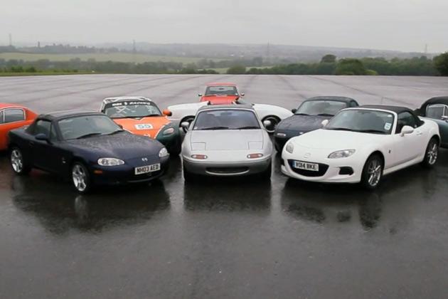 【ビデオ】マツダ「ロードスター」の魅力を英自動車メディアが検証!