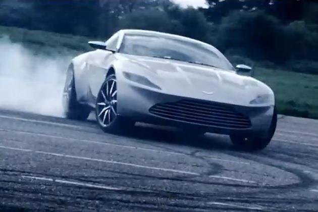 【ビデオ】アストンマーティンが「DB10」で007の新作にエール