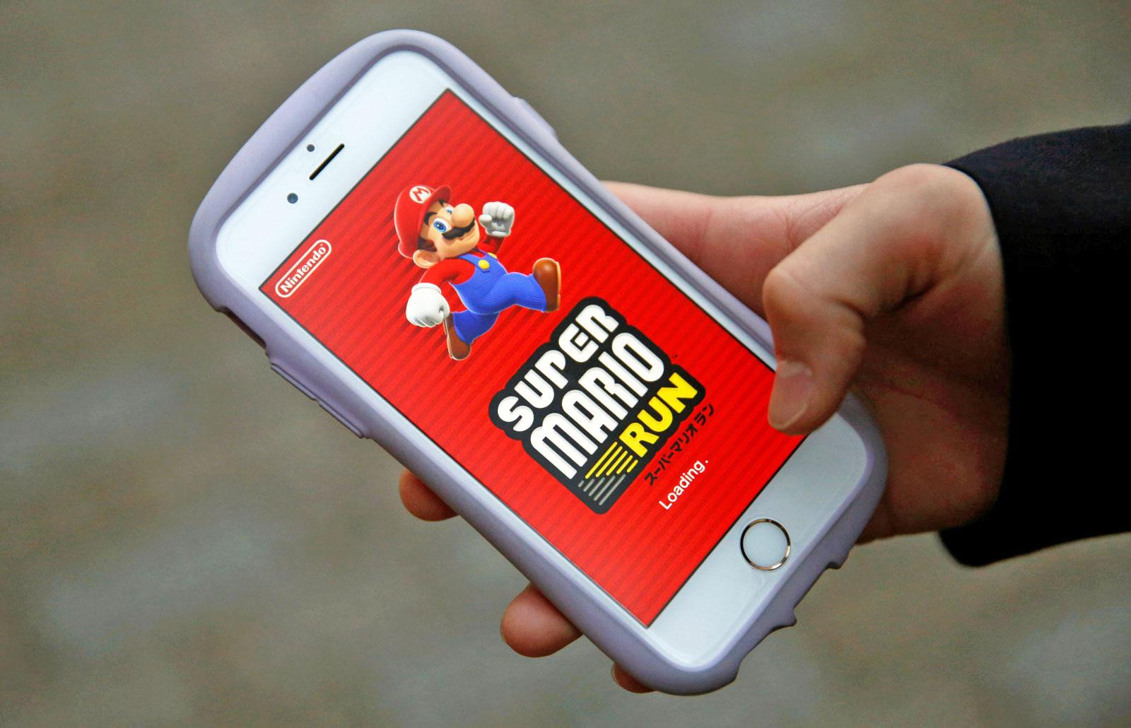 Super Mario Run ingresó 53 millones de dólares