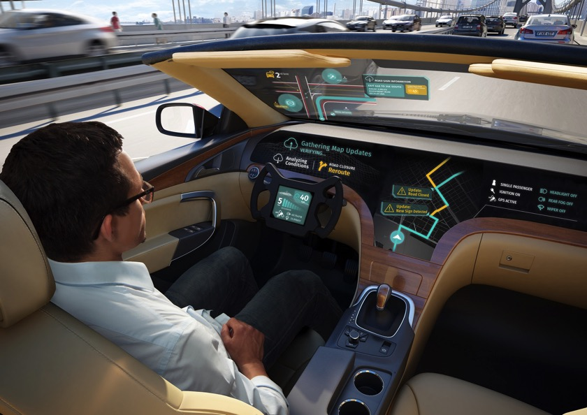 LG und HERE werden Partner für autonome Fahrzeuge