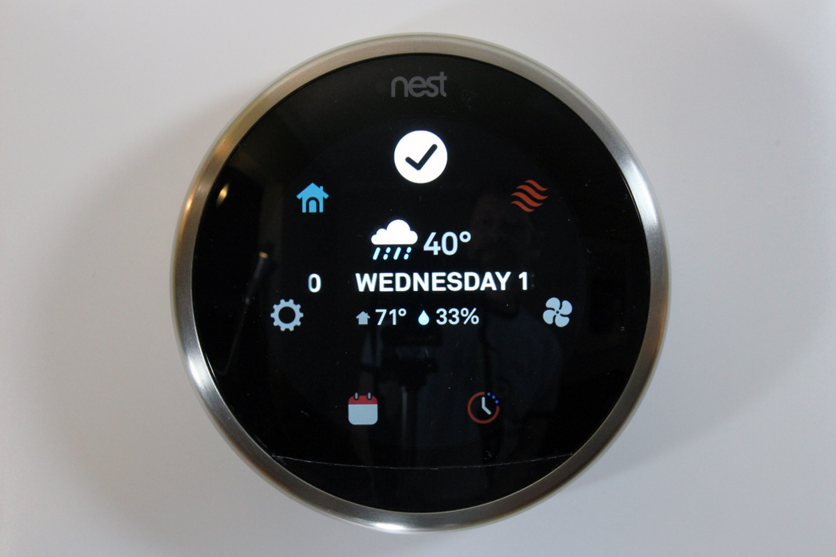 A month with nest 39 s latest smart thermostat - Nest thermostat stylish home temperature control ...