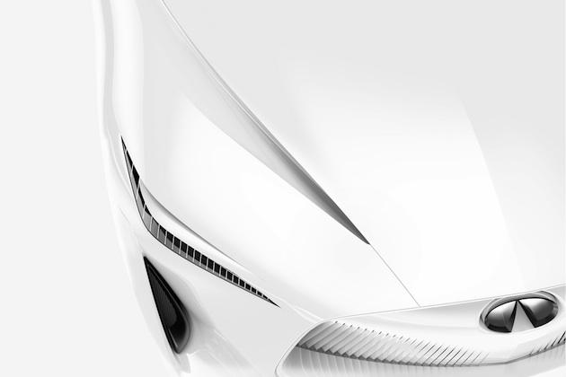 インフィニティ、北米国際オートショーで発表予定の新コンセプトカーをチラ見せ