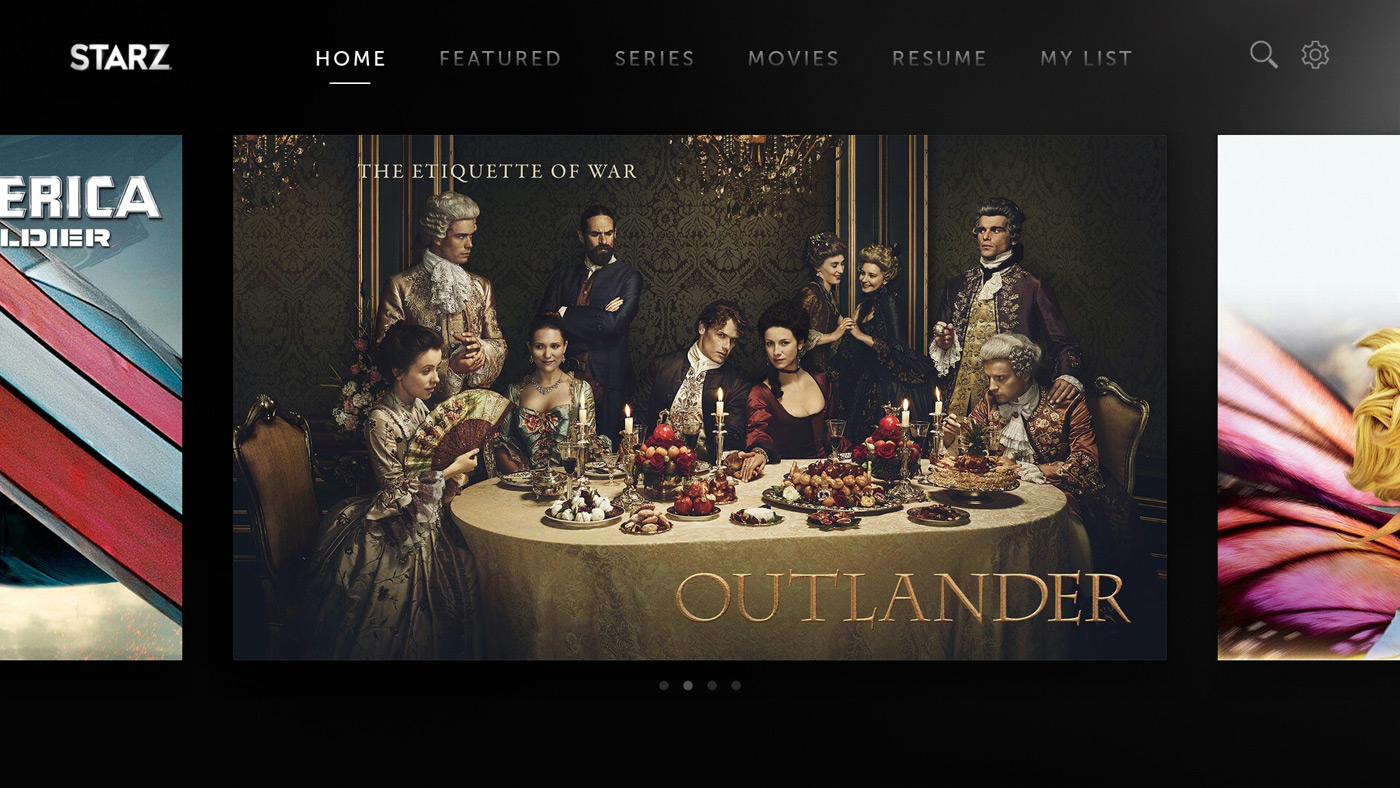 Starz starts streaming on Android TV