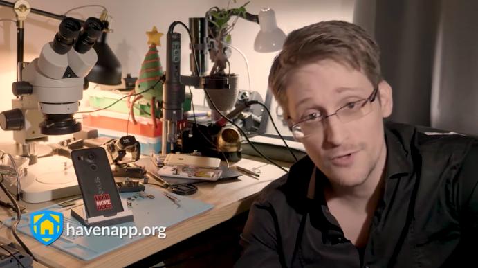 Edward Snowden macht jetzt selbst in Überwachungs-Apps