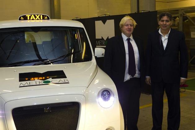 Metrocab and Frazer-Nash