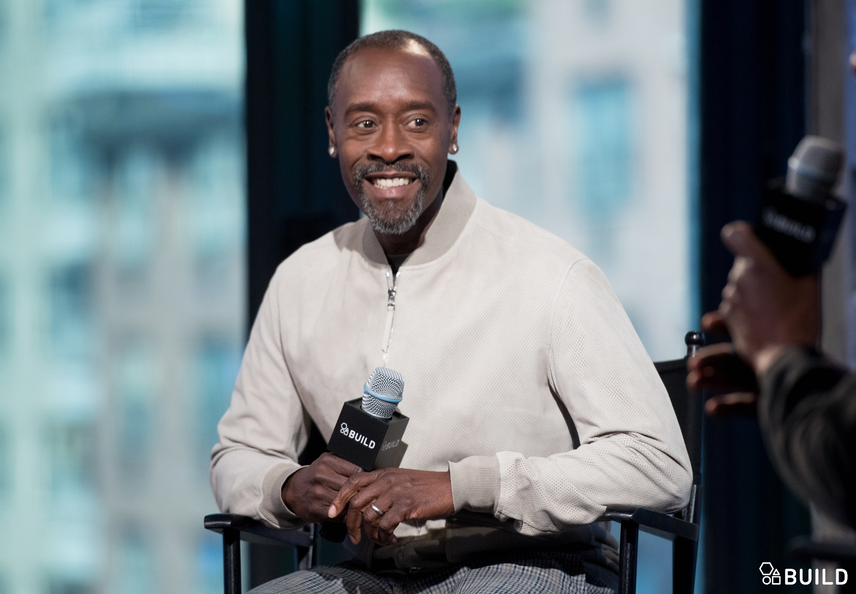 Don Cheadle visits AOL Hq for Build on March 24, 2016 in New York. Photos by Noam Galai