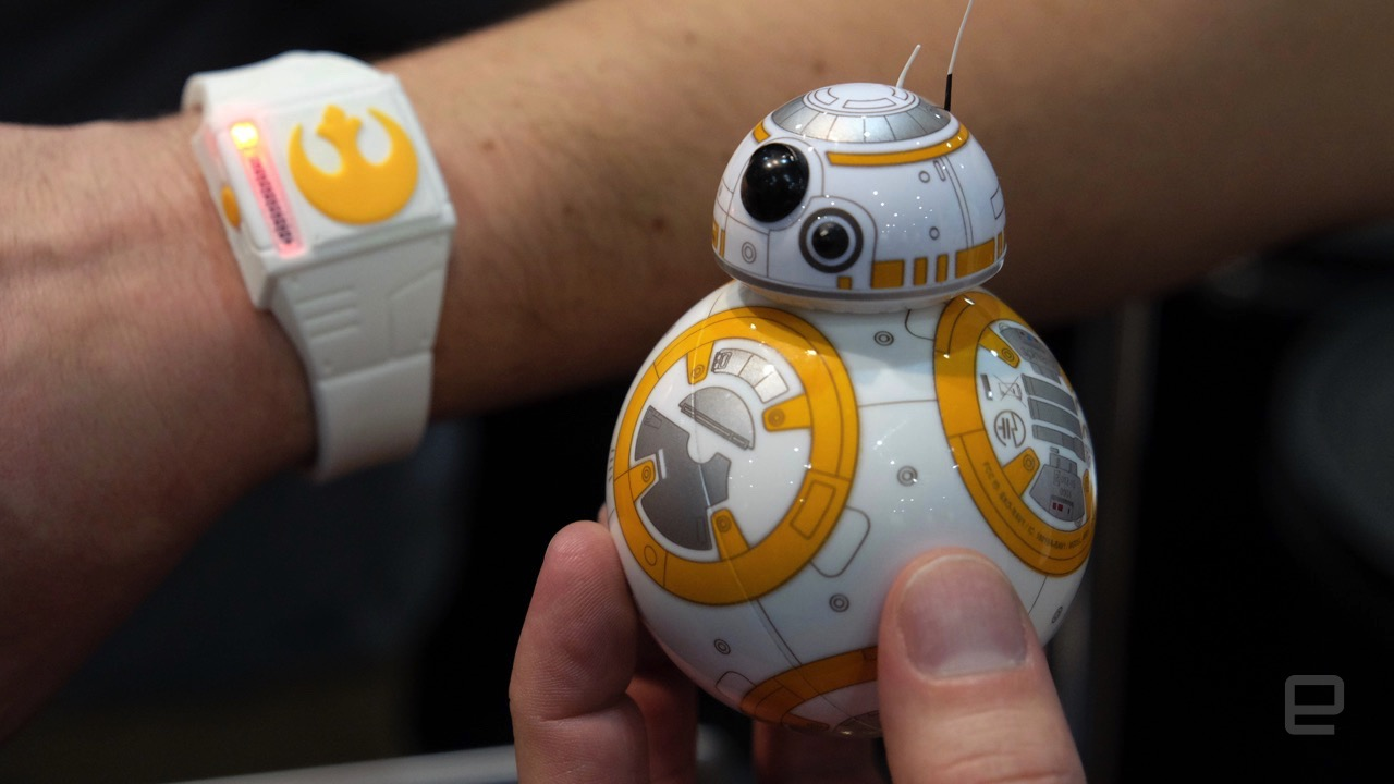 Sphero's Force Band will let you control BB-8 wth gestures