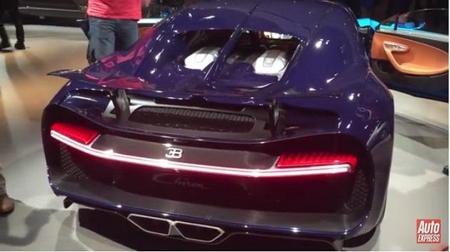 【ビデオ】これがブガッティの新型スーパーカー「シロン」の排気音!