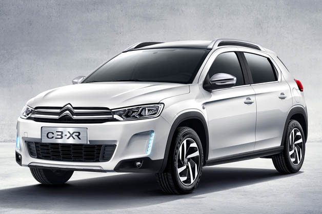 citroen presents new c3 xr crossover for china. Black Bedroom Furniture Sets. Home Design Ideas