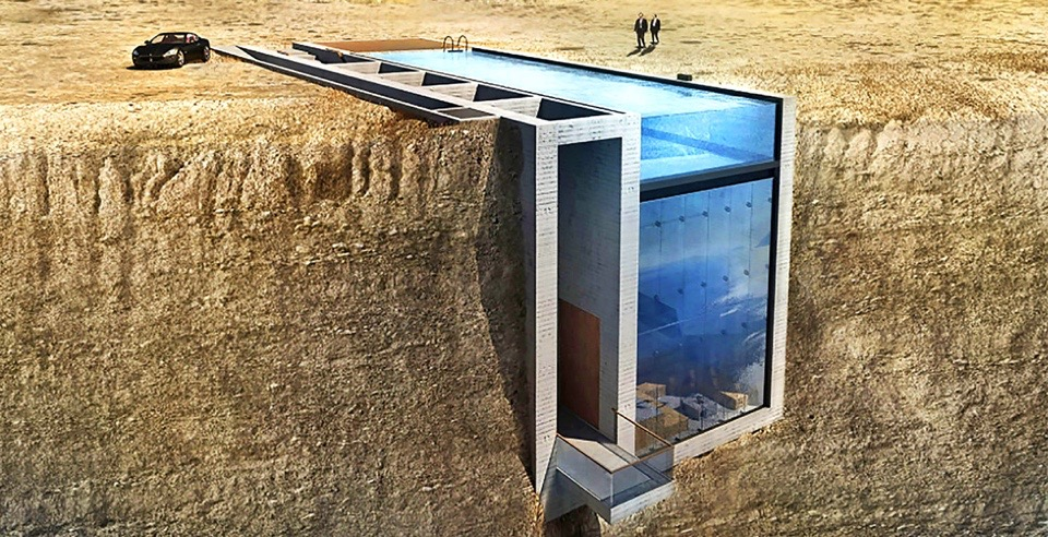 Inhabitat's Week in Green: cliffside homes and The Bark Knight