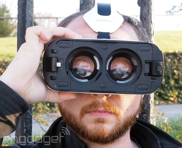 Samsung Gear VR without a Note 4 attached