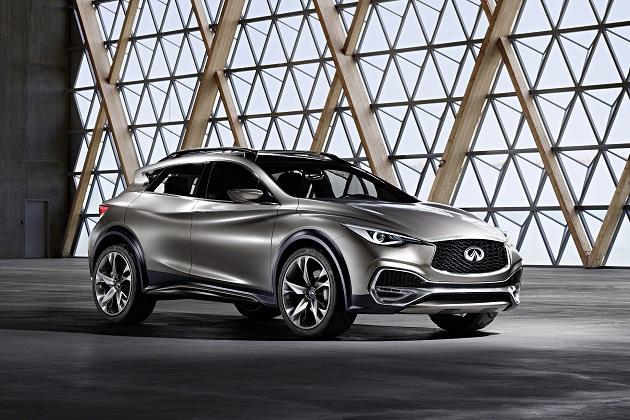 インフィニティ「QX30」の市販モデルが、11月のLAオートショーでデビュー