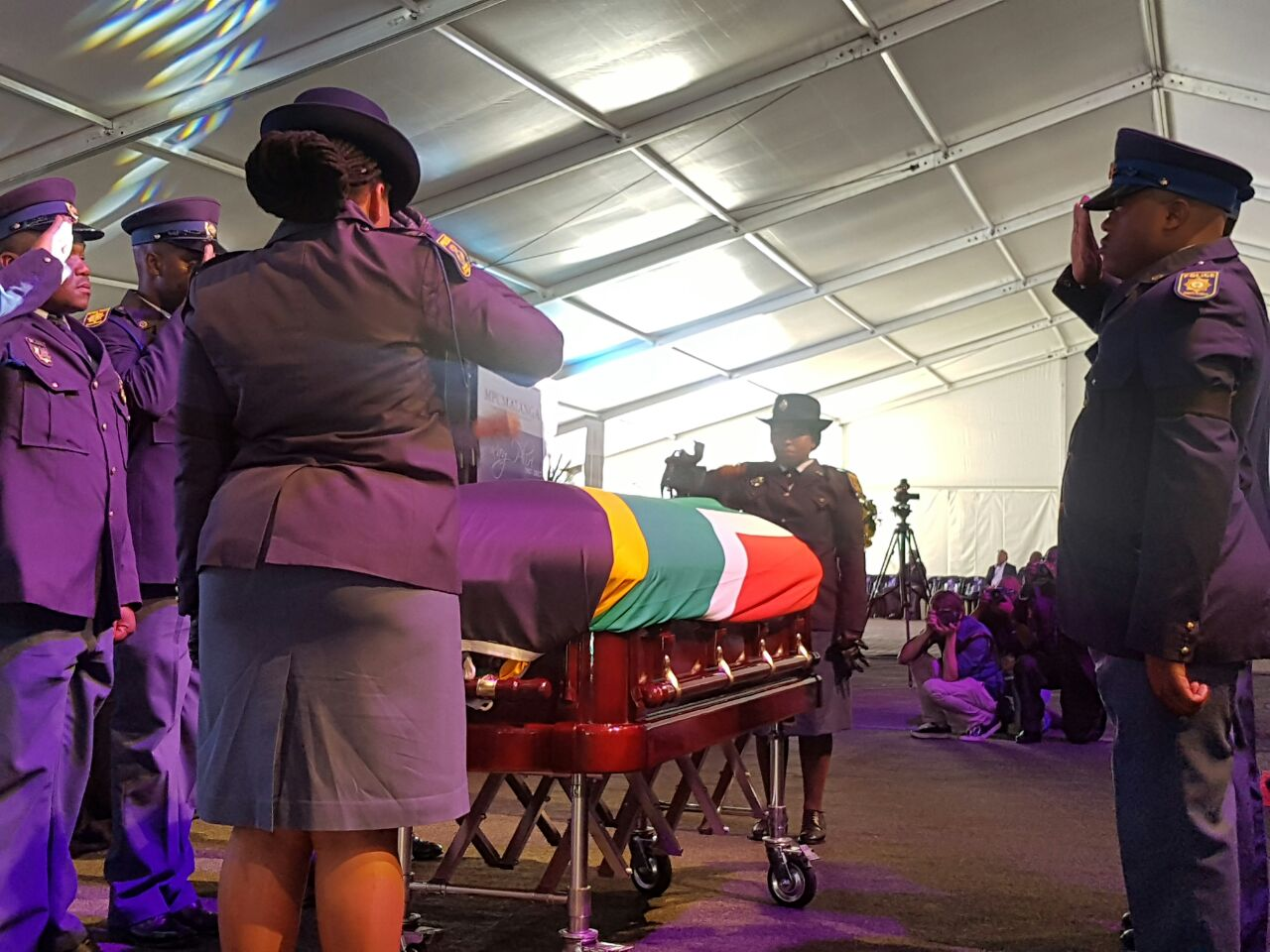 A moving final goodbye for Ray Phiri