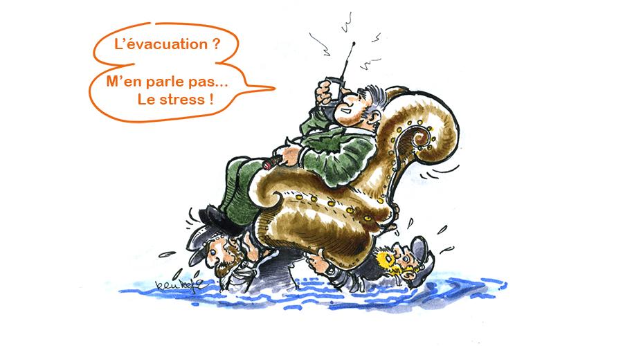 Le pic de crue de la Seine attendu cette nuit