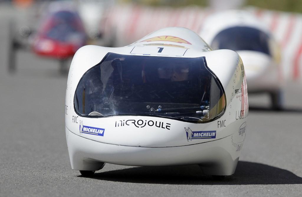 Shell eco-marathon,  La Joliverie, sprit sparen prototyp, verbrennungsmotor, verbrauchsarm, efffizient, effektiv, benzin sparen