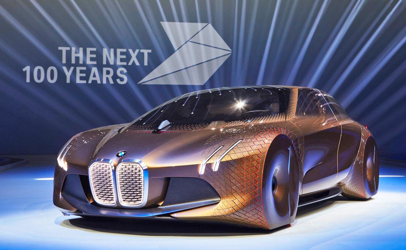 Vision Next 100 de BMW tiene todo lo que siempre soñaste en un coche