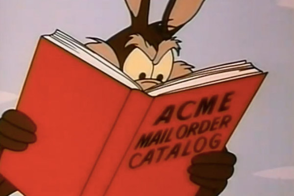 greatest fictional companies on television, acme looney tunes