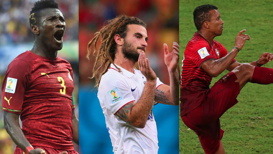 10 questions for the men of the World Cup regarding their hairstyles