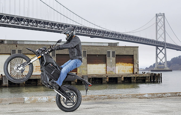 This is how you refuel Zero's electric motorcycle
