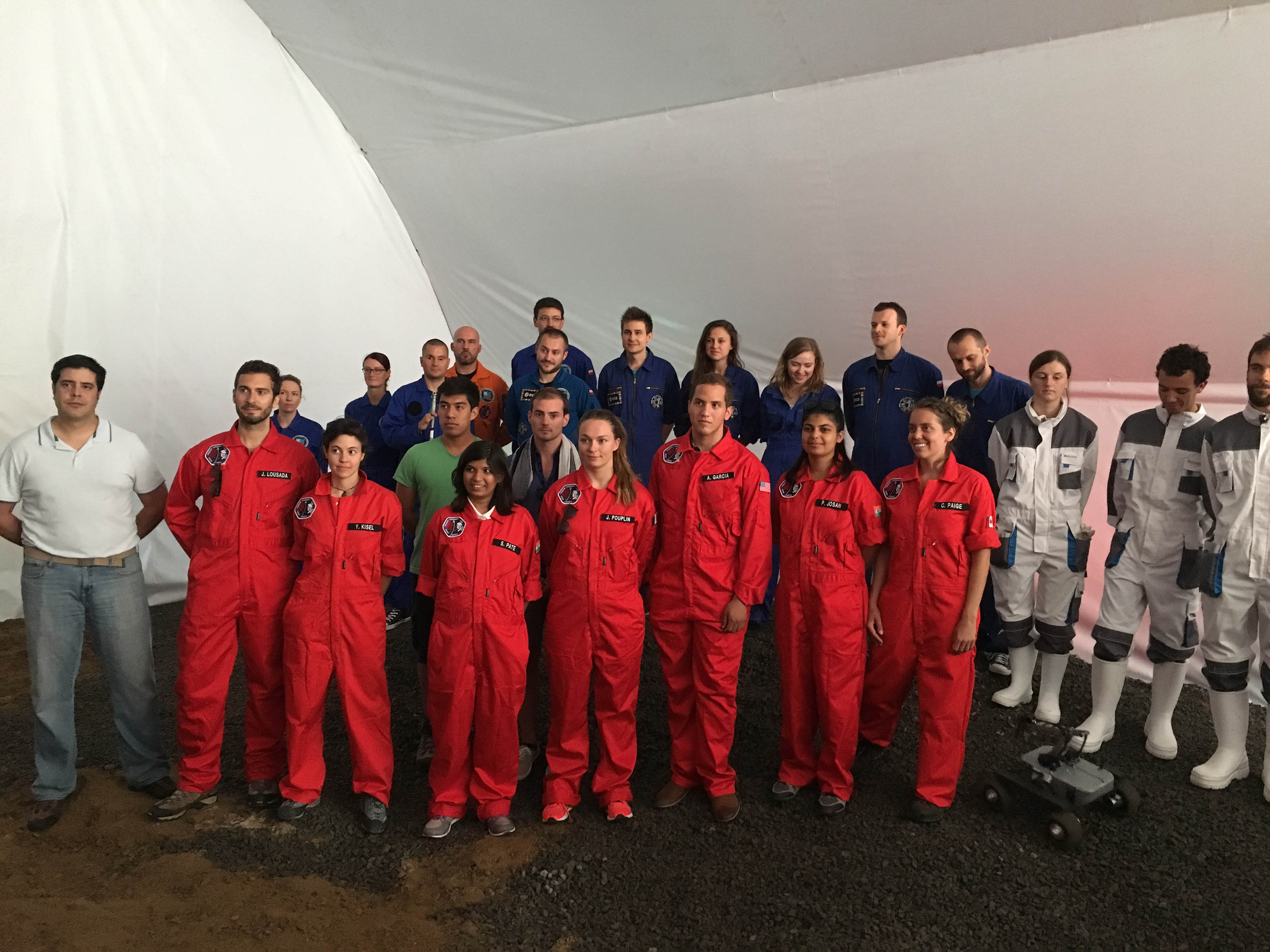 Comienza misión simulada a Marte