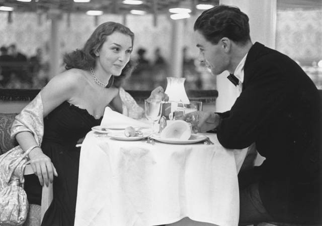 1950s dating étiquette