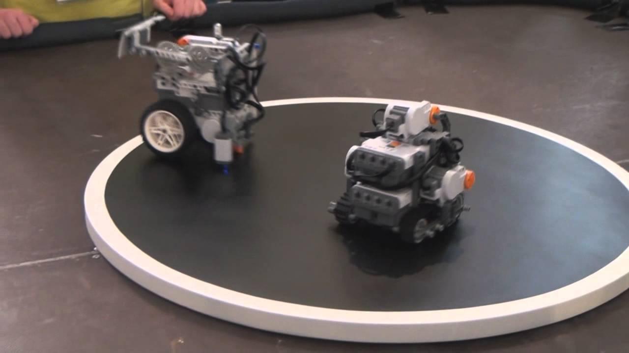 Estos combates de sumo entre robots te van a alegrar el día